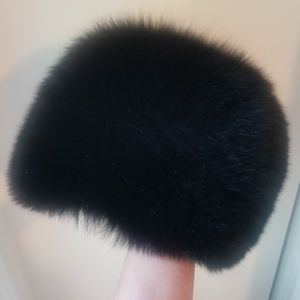 Genuine Mink Fur Hat